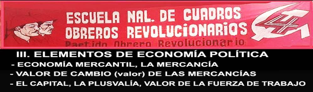 Escuela nacional de cuadros - Obreros revolucionarios - Partido Obrero Revolucionario de Bolivia - web de formación Image002
